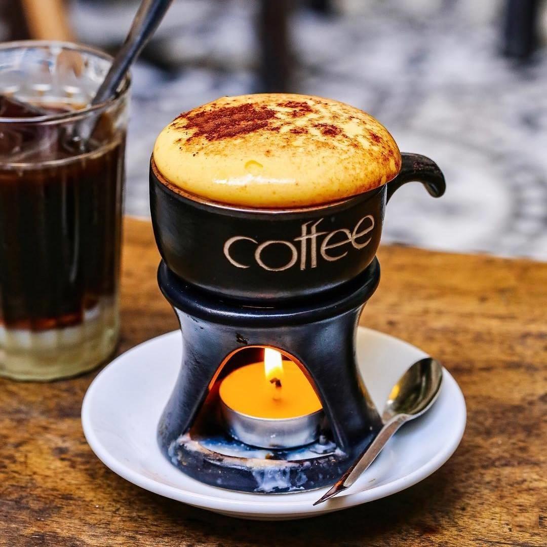 Cafe trứng Hà Nội: Nét cổ xưa trong lòng phố thị