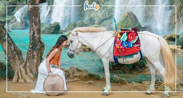 """Photo of """"Té xỉu"""" với vẻ đẹp như mơ của non nước Cao Bằng"""