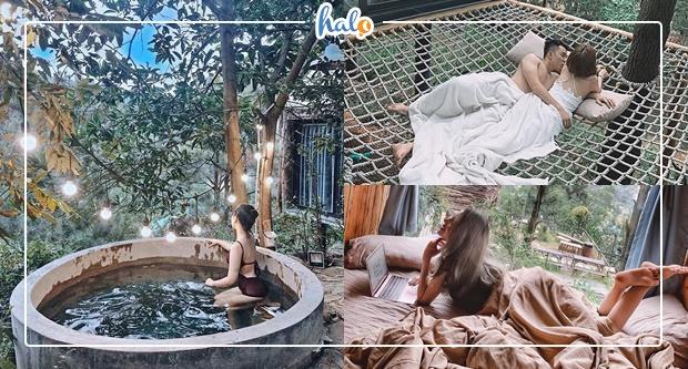 Photo of Team Hà Nội rủ nhau đi trốn ở NHÀ BÊN RỪNG đẹp như resort Bali