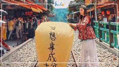 Photo of Quẩy banh nóc trong Làng cổ Cửu Phần – Thập Phần ở Đài Loan