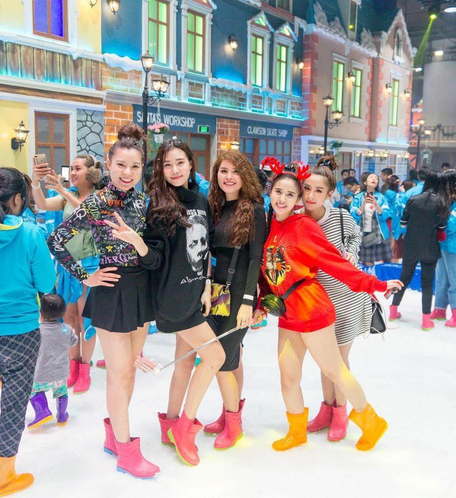 khu vui choi snowtown