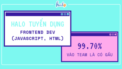 Photo of HALO – Tuyển dụng Frontend Dev (JavaScript, HTML)