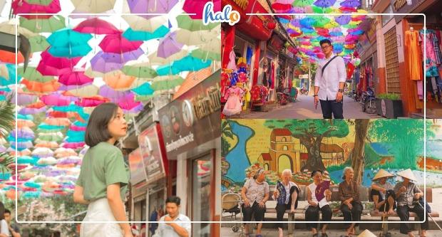 Photo of Con đường ô làng lụa Vạn Phúc đẹp tựa Hội An ở ngay Hà Nội
