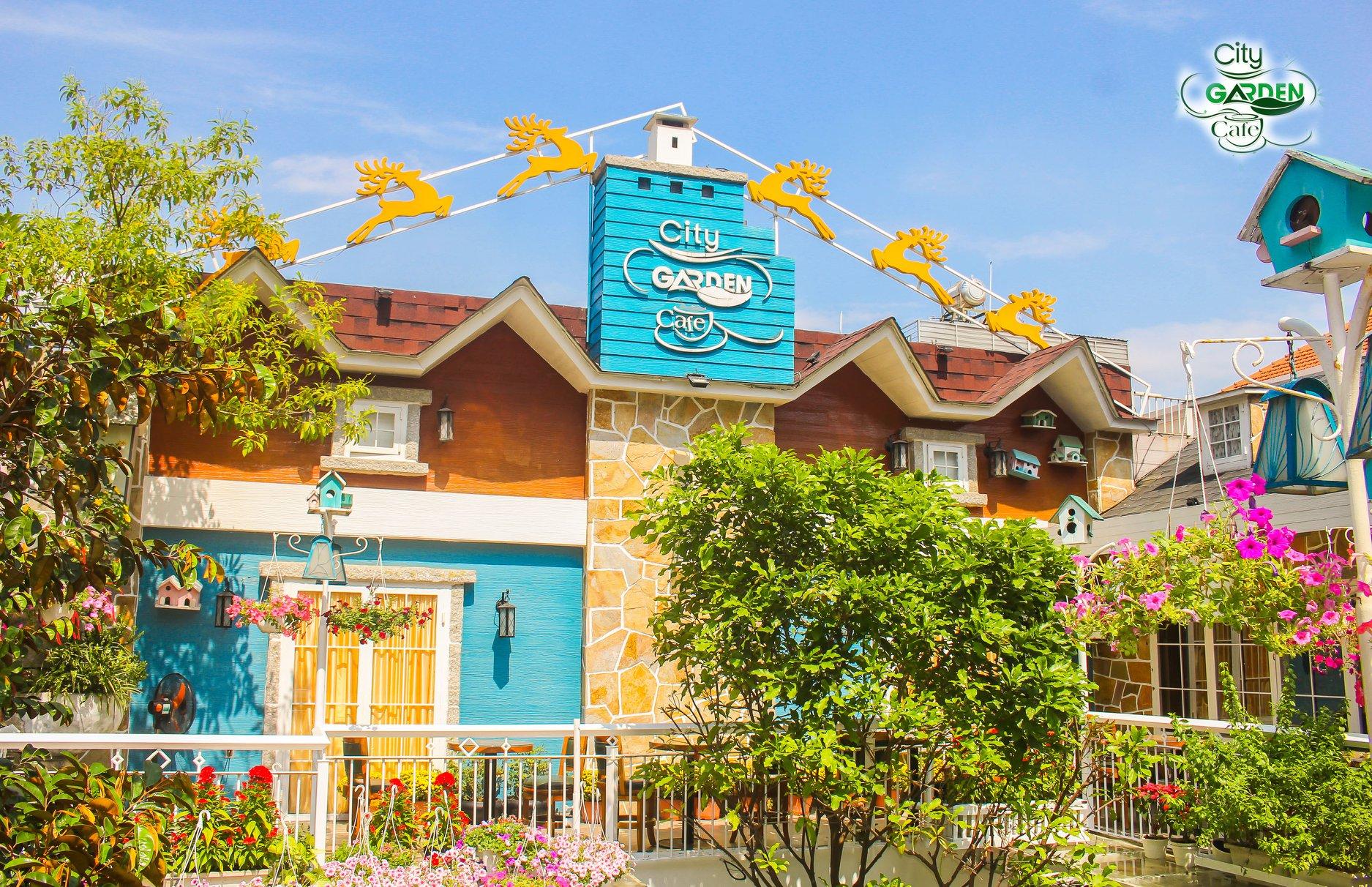 toan canh City Garden Cafe 1