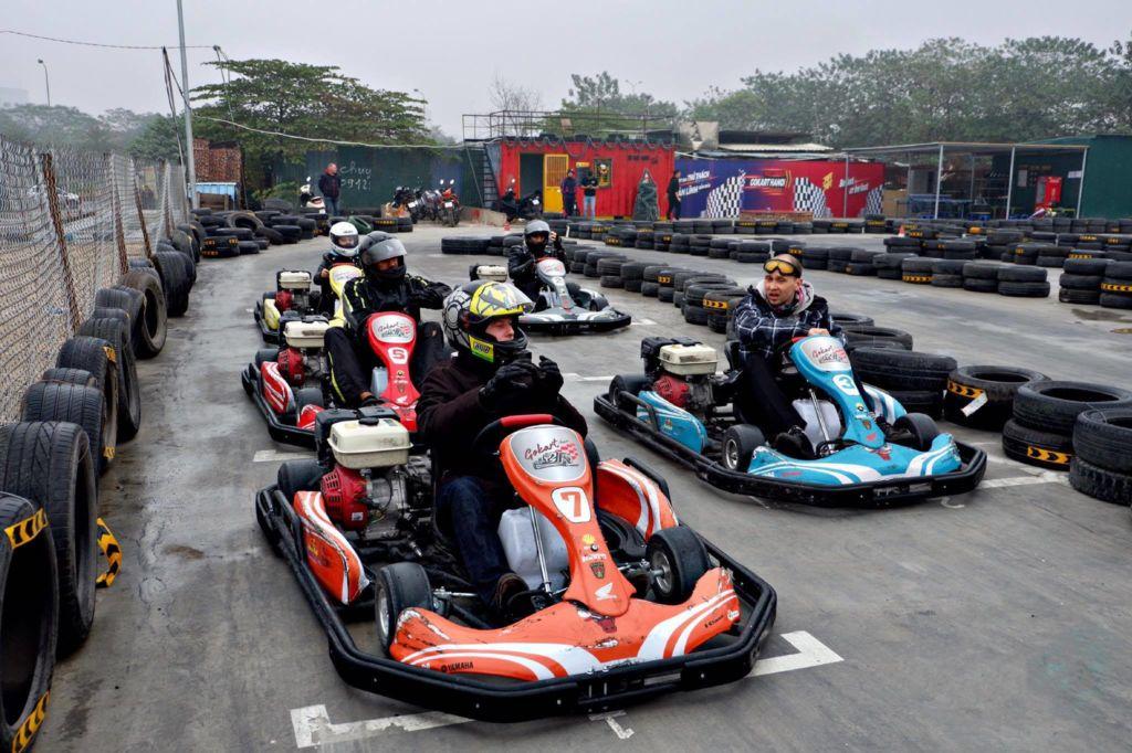Kết quả hình ảnh cho đua xe go kart hà nội