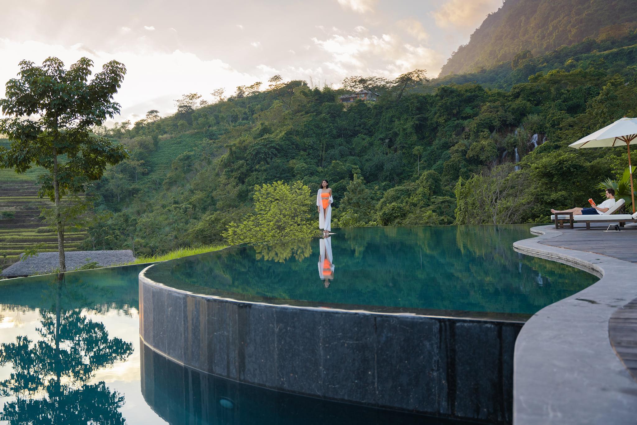 be boi o Avana Retreat - resort gần Hà Nội
