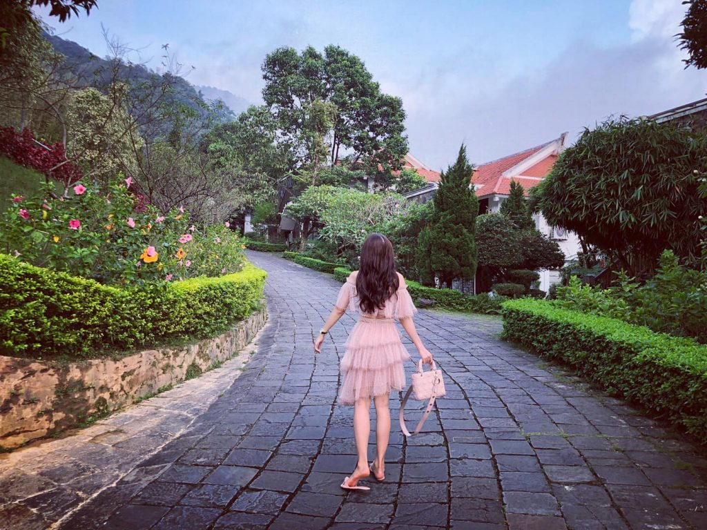 khuon vien Belverdere Resort Tam dao