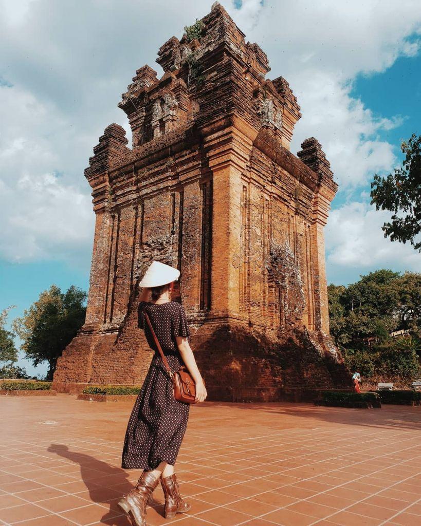 Đến Tháp Nhạn tìm lại dấu ấn lịch sử Champa