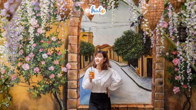 Photo of Khám phá quán cafe 'Hoa Tử Đằng' gây sốt: Yên Garden Cafe Đà Nẵng