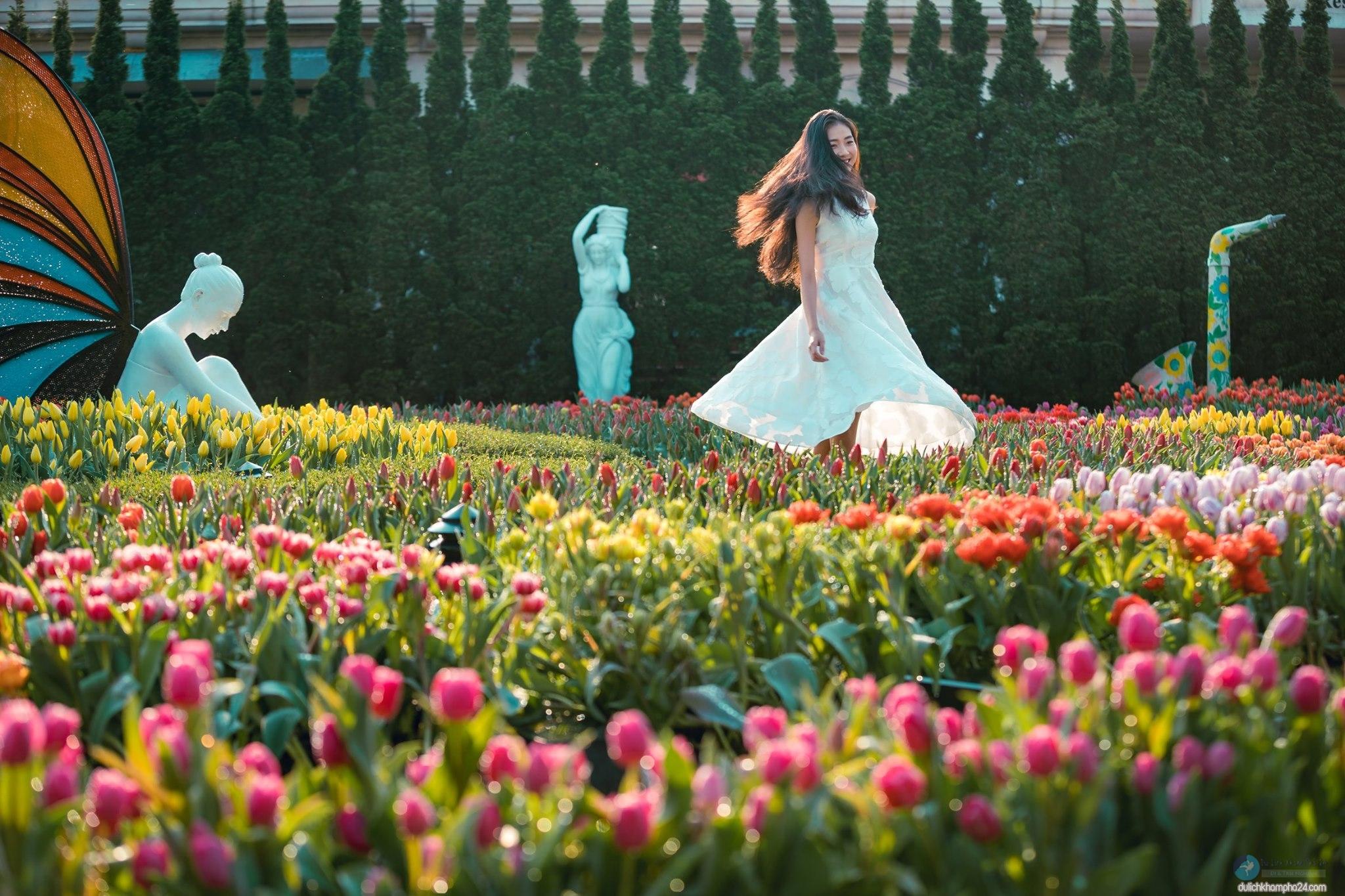 vuon hoa Le Jardin D'Amour