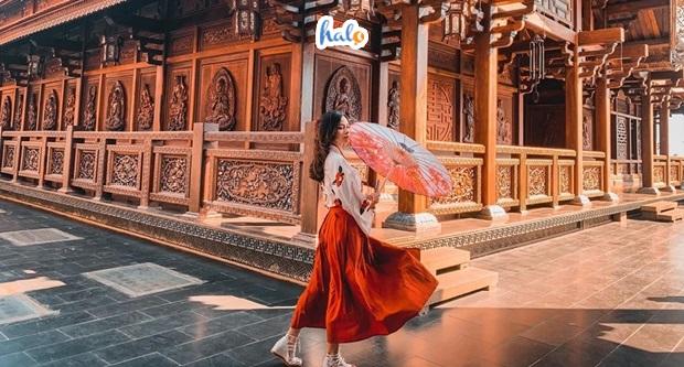 Photo of Chùa sắc tứ Khải Đoan, nơi đứng vào là có ảnh đẹp không kém gì đất Thái Lan
