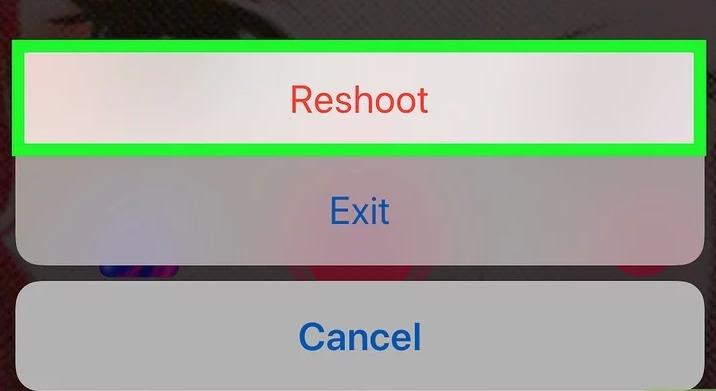 reshoot