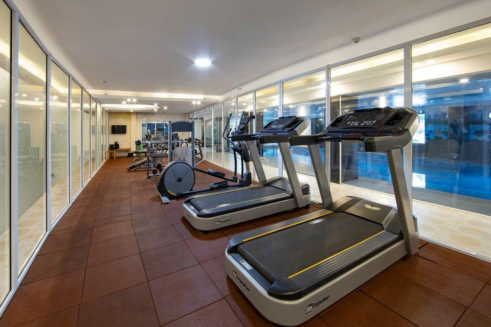 GYM room sapa highland resort