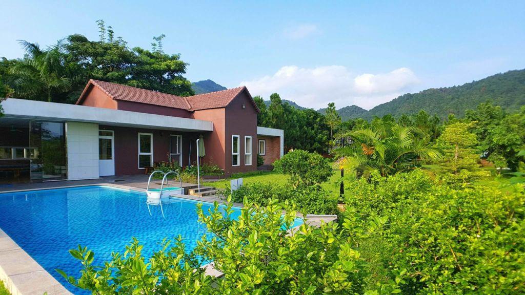 the pool villa soc son