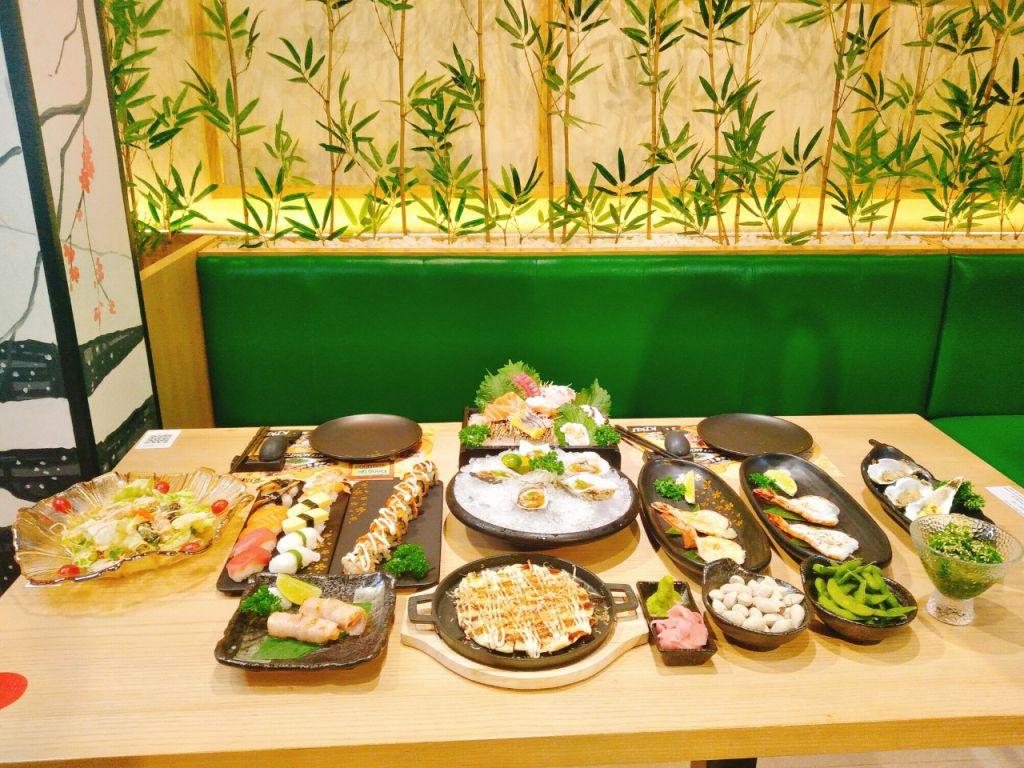 buffet sushi nhat