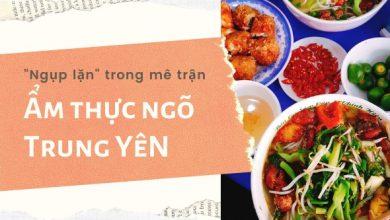"""Photo of """"Ngụp lặn"""" trong mê trận ẩm thực ngõ Trung Yên"""