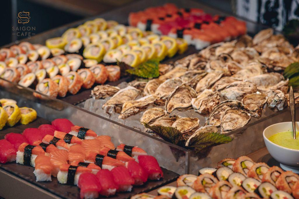 buffet sheraton restaurant buffet ngon o sai gon