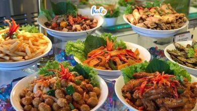 buffet huong rung