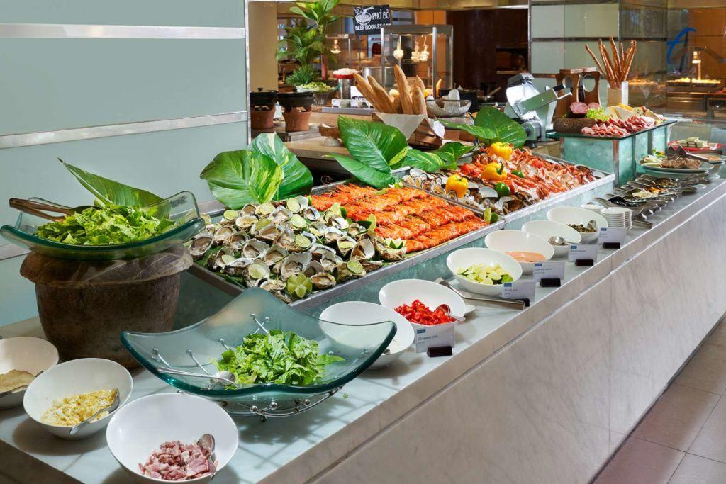 buffet hai san sheraton