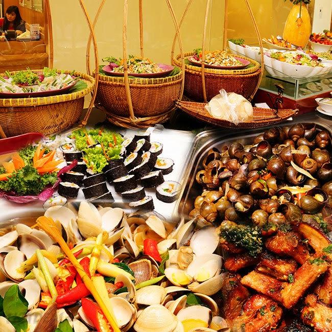 buffet tan binh