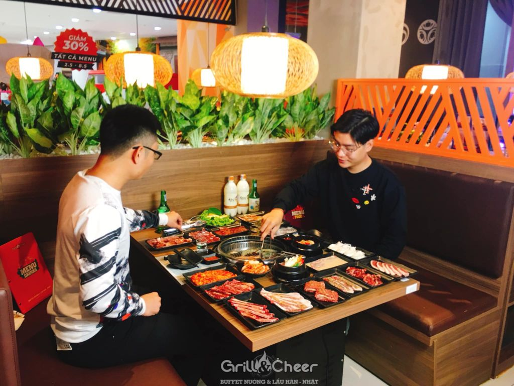 grill&chill buffet nuong han quoc