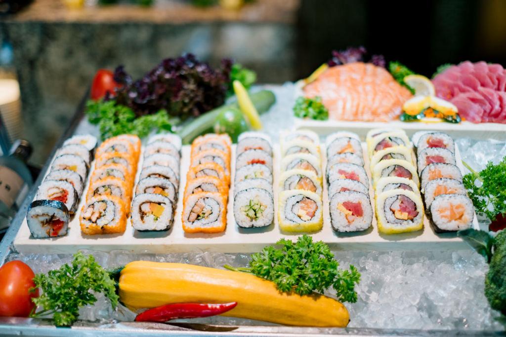 quay sushi sashimi