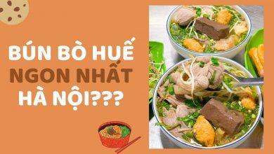 Photo of 'Ngập mồm' trong tô bún bò Huế ngon nhất Hà Nội