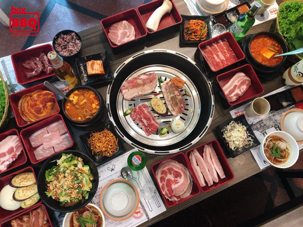 box bbq buffet nuong