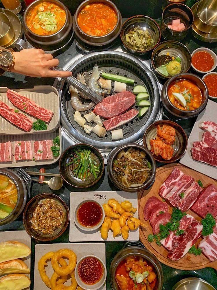 buffet ngon o hanoi Sajang BBQ