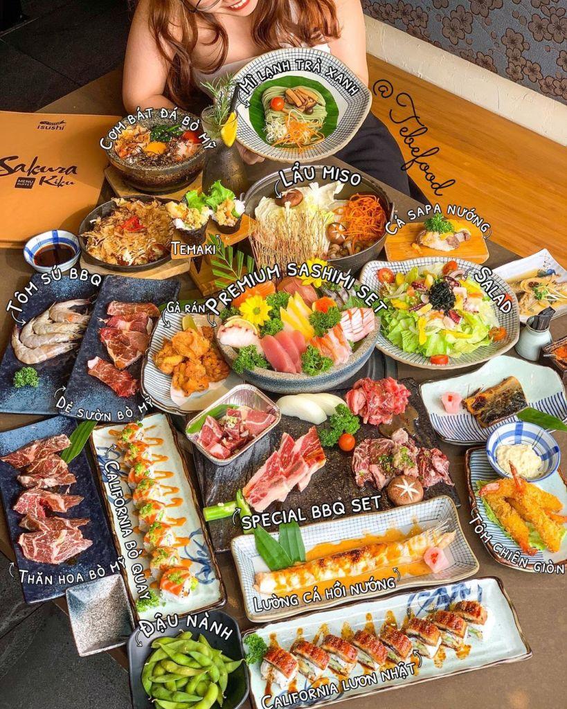 buffet isushi ha noi