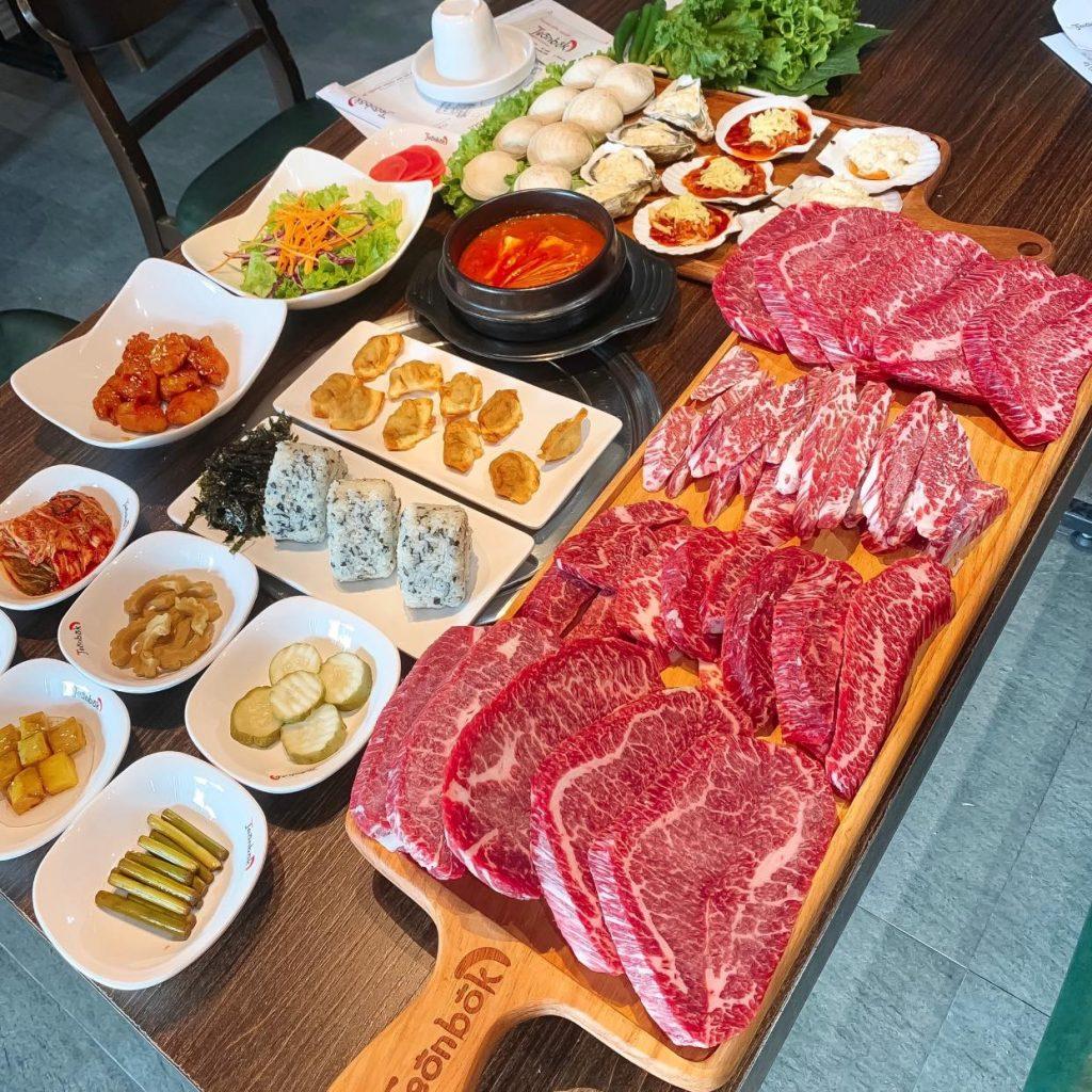 nha hang buffet nuong jeon bok