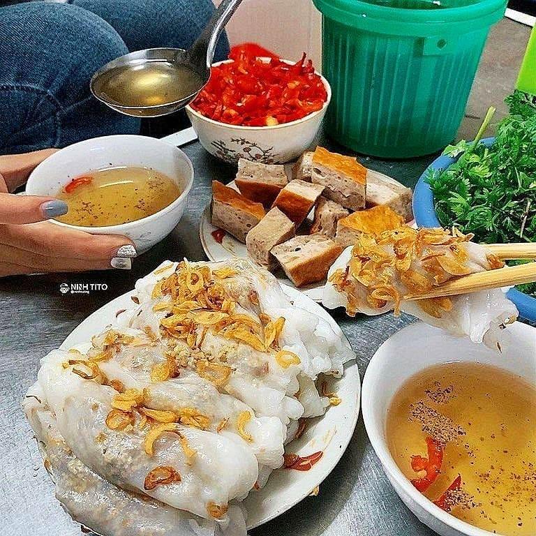 Top quán bánh cuốn thanh trì ngon nhất Việt Nam