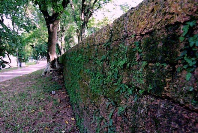 bức tường thành cổ kiên cố