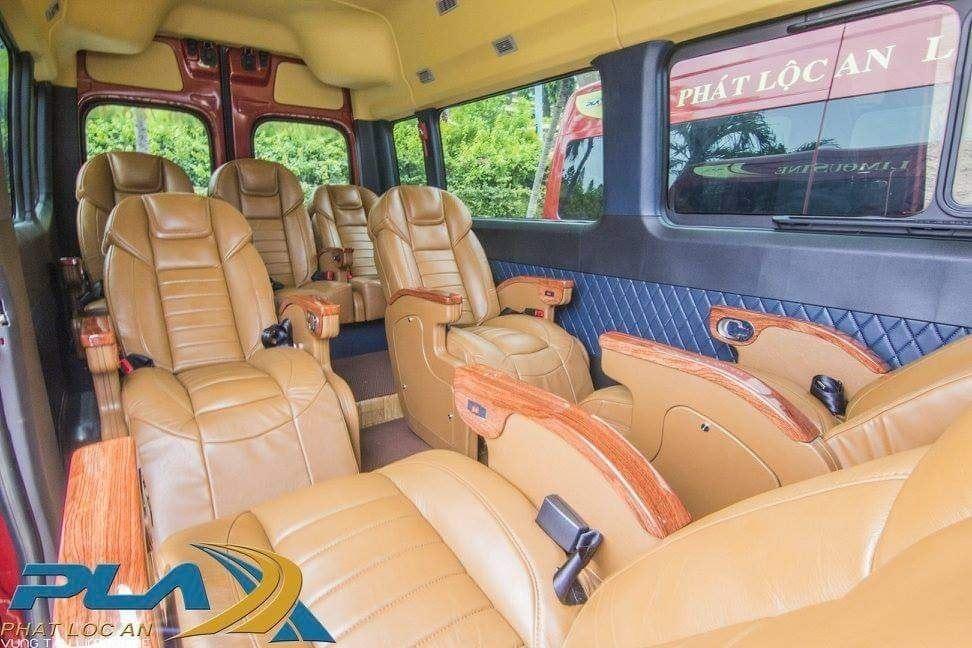 xe phat loc an limousine di vung tau