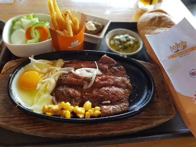 Beefsteak Hai con bo