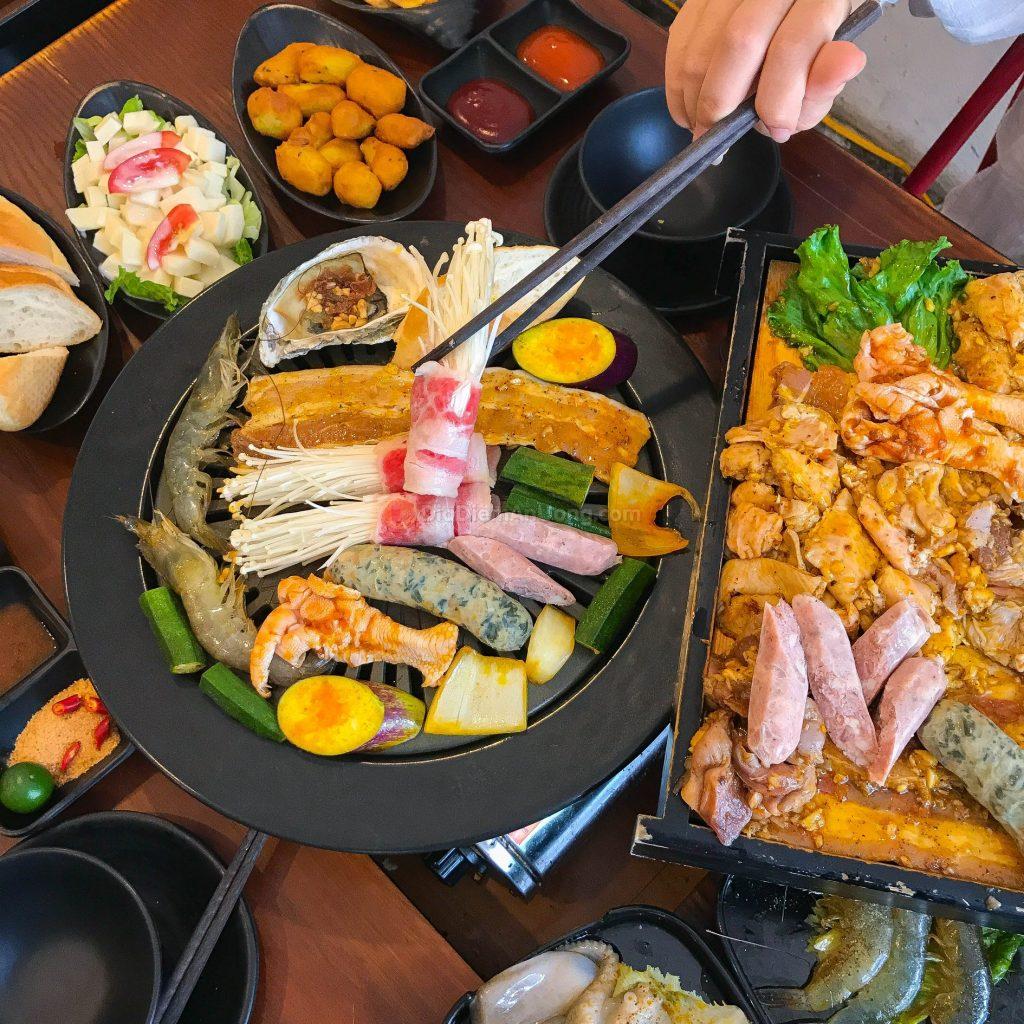 buffet lau nuong taca taca 1