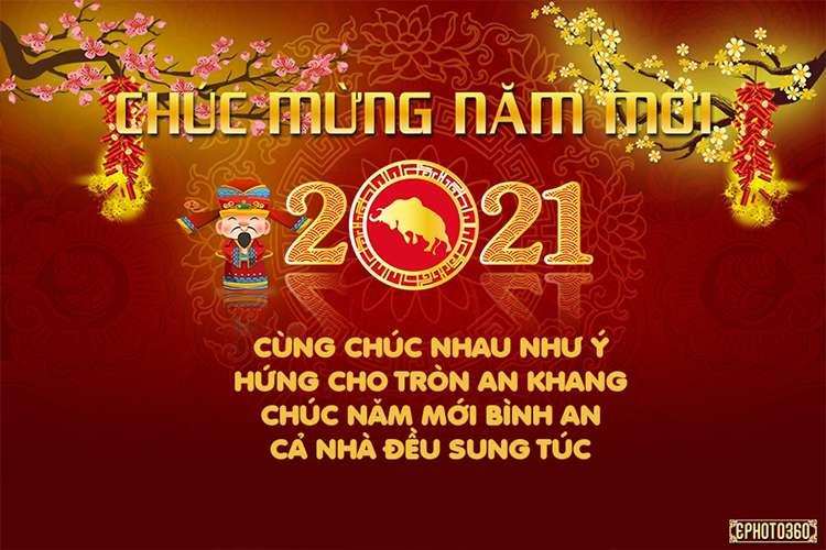 loi chuc mung nam moi 2021