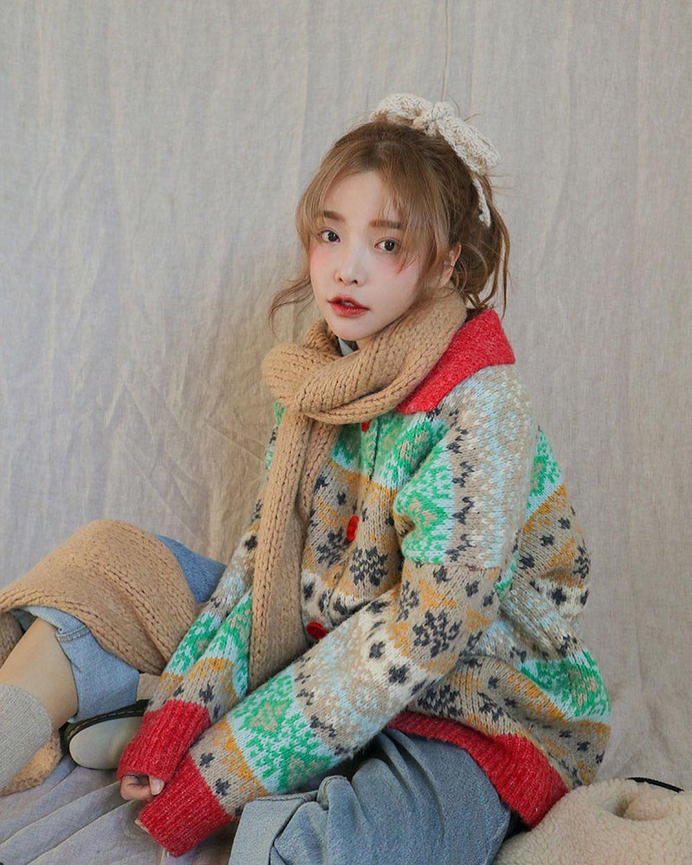 stylenanda_korea phoi do di choi noel