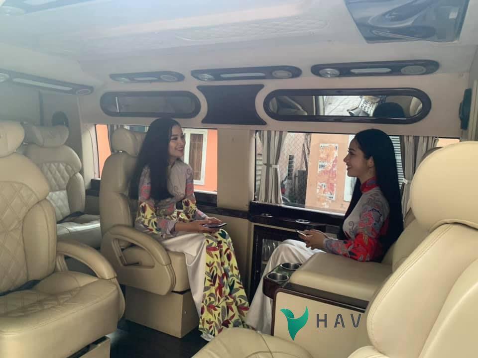 HAV travel xe limousine da nang di hoi an