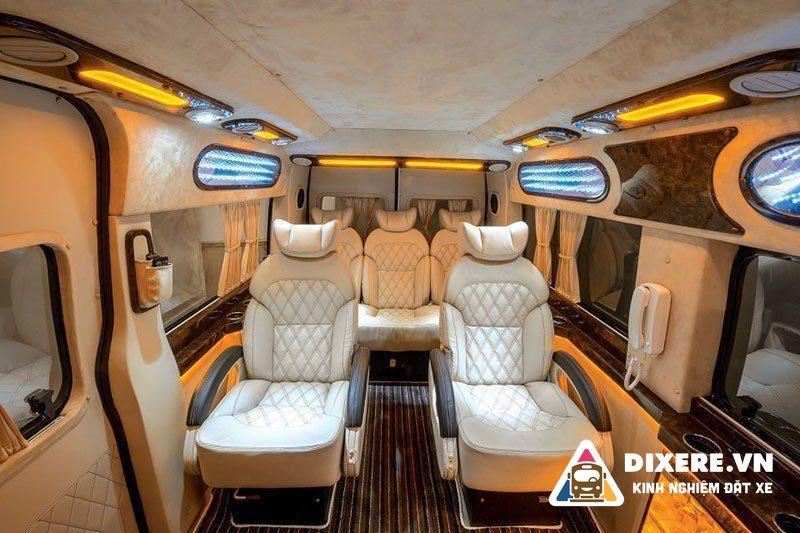 Xe limousine Phuong Trang di da lat