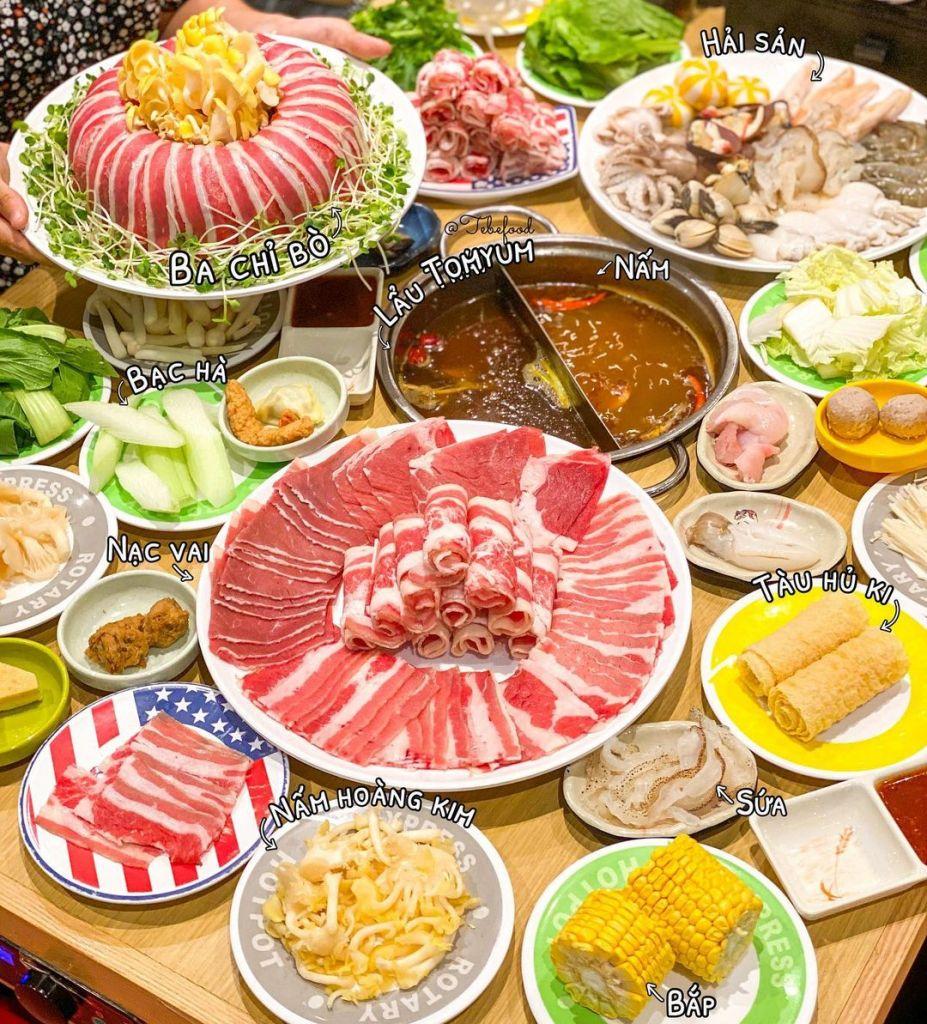 buffet lau kichi kichi