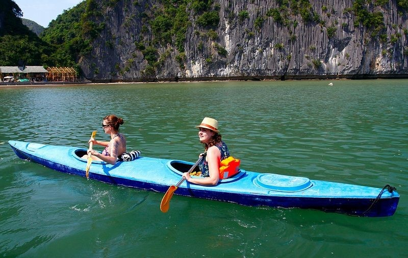 cheo thuyen kayak