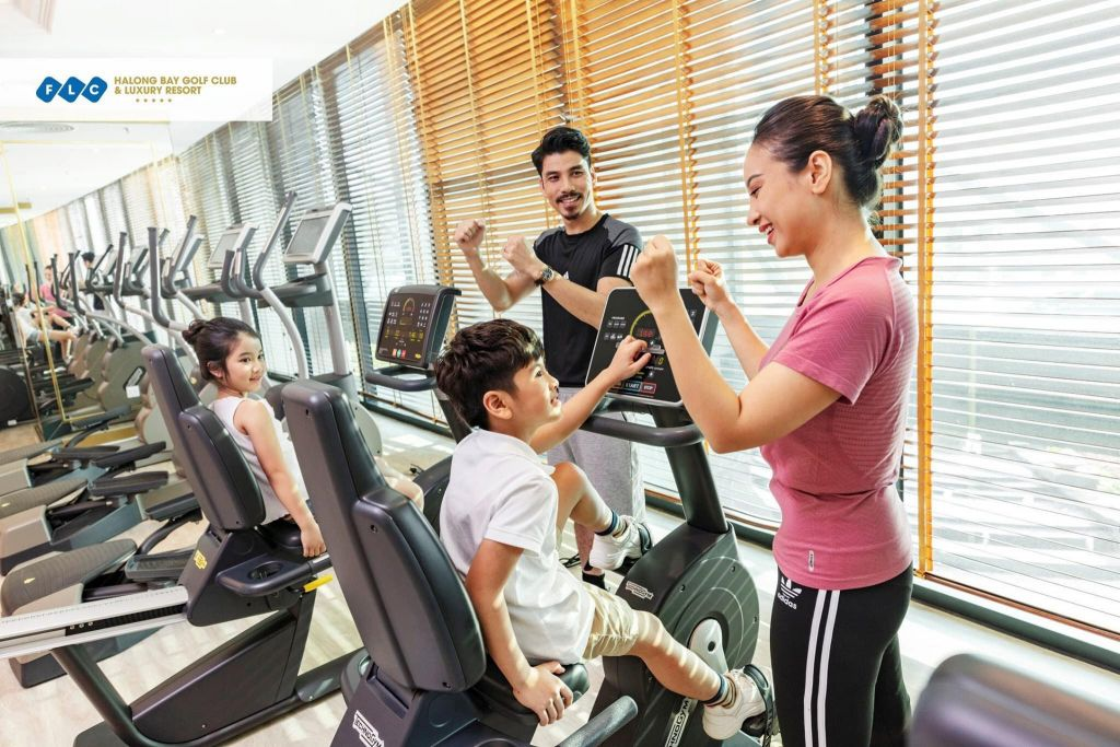fitnes center villa flc ha long