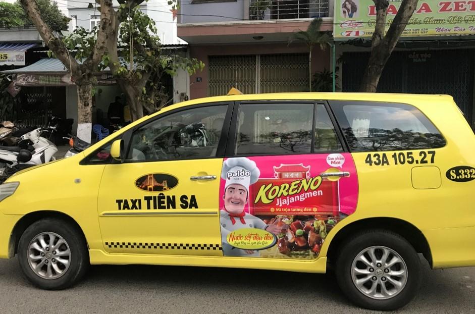 taxi da nang tien sa