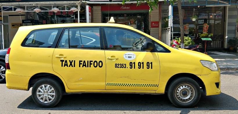 taxi hoi an