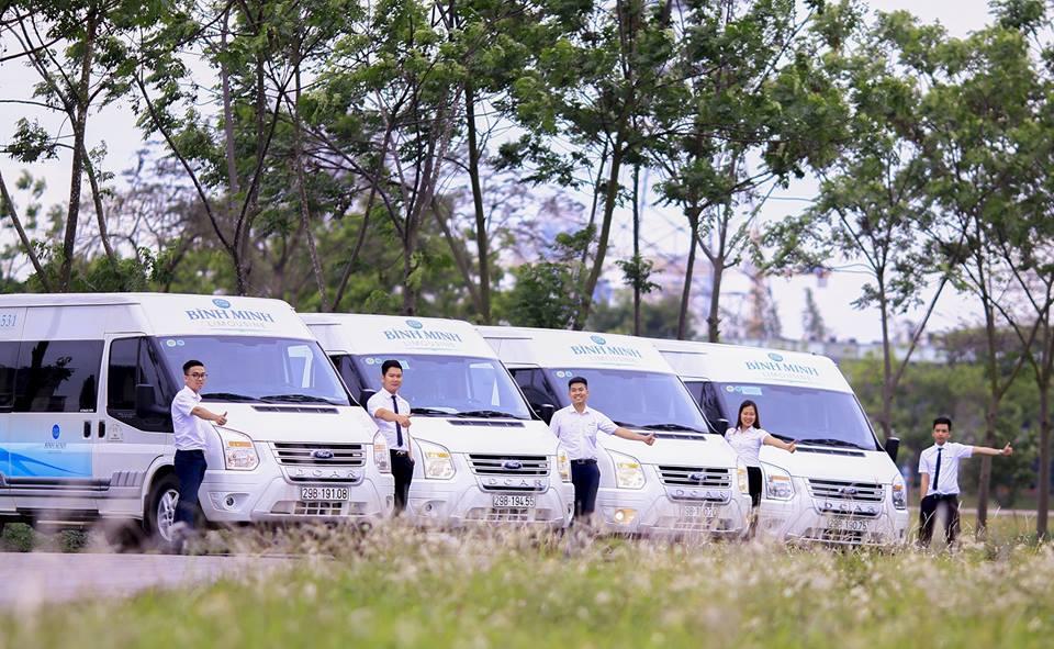 xe limousine ninh binh binh minh