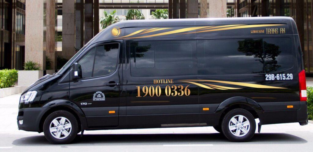 xe limousine trang an