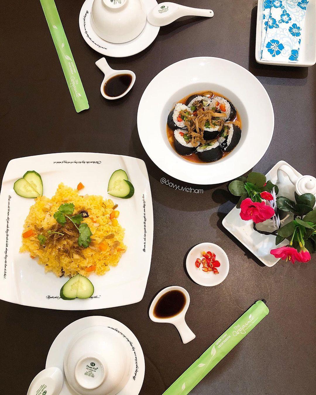 The Organic nha hang buffet chay tphcm ngon so 1