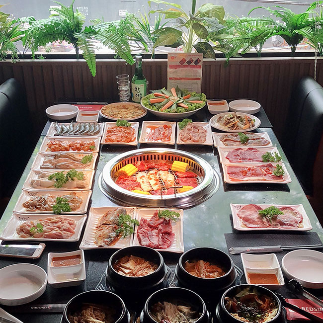 King BBQ buffet hai san chanh nghia