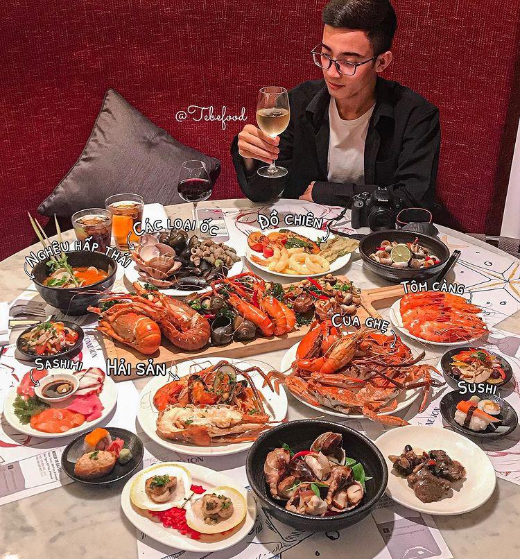 top 10 nha hang buffet hai san TPHCM cho dan sanh an